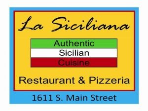 La Siciliana Restaurant & Pizzeria Willits Ca