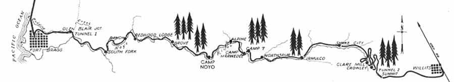 skunk train map