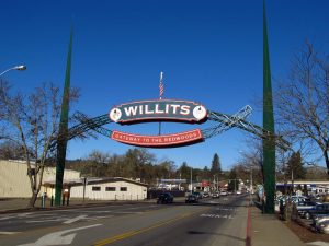 History of Willits CA