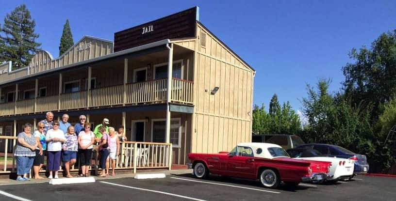 Willits Hotel - The Old West Inn - The Best Hotel in Willits, Ca - Chevrolet Nomad