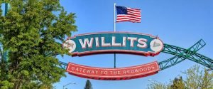 Willits California